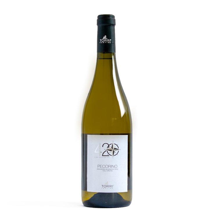Organic Pecorino D'Abruzzo IGT White Wine 75cl