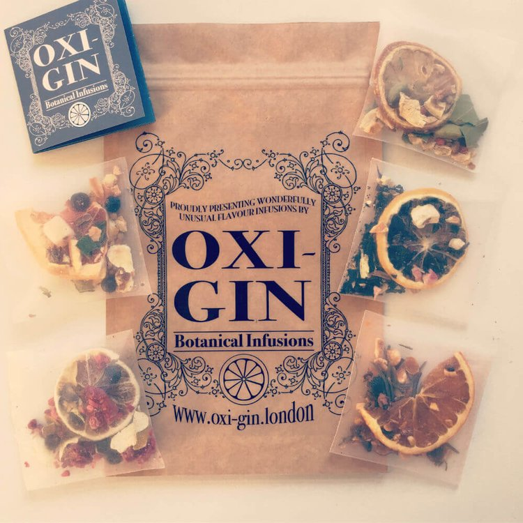5 Mixed Botanical Infusion Bags for Gin & Tonic (5 Flavours)