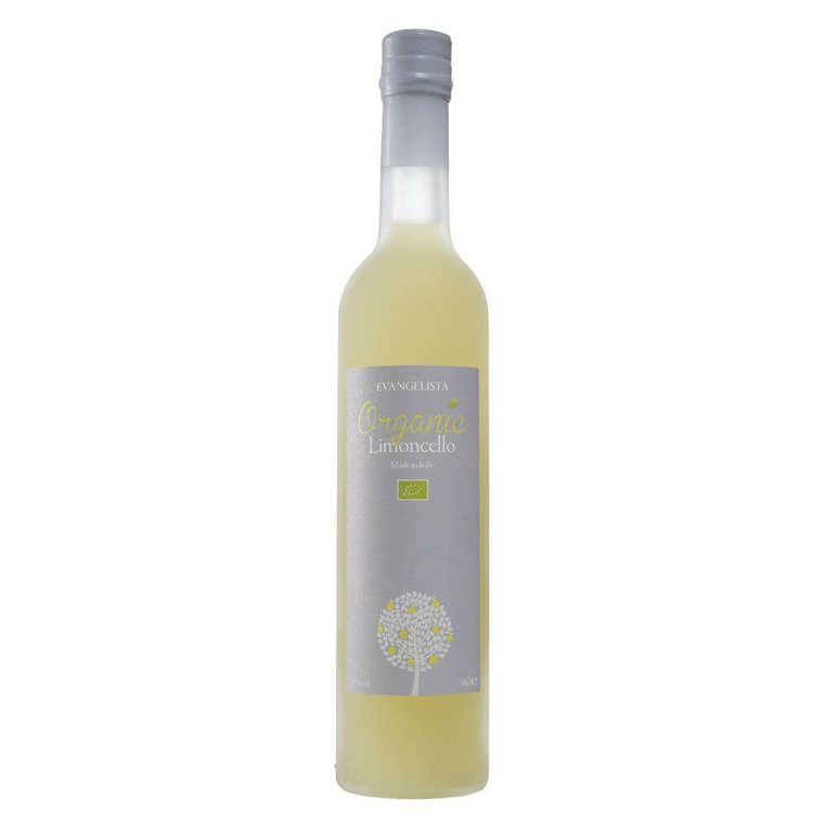 Organic Italian Limoncello by Evangelista 50cl 26% Vol.