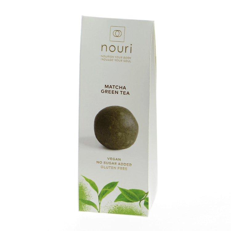 Matcha Green Tea Truffles with Cashew 30g (Vegan, Gluten Free) by Nouri