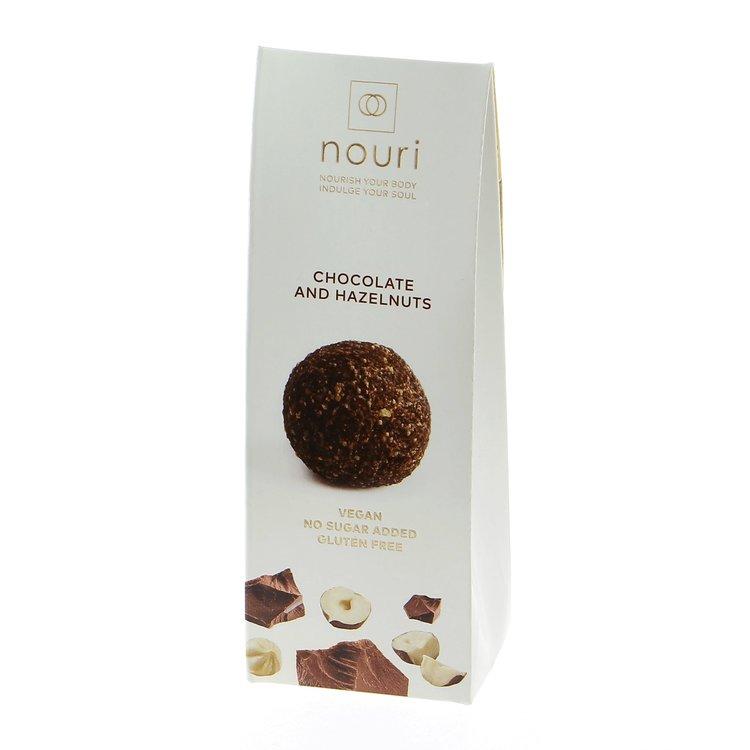 Chocolate & Hazelnuts Truffles 30g (Vegan, Gluten Free) by Nouri