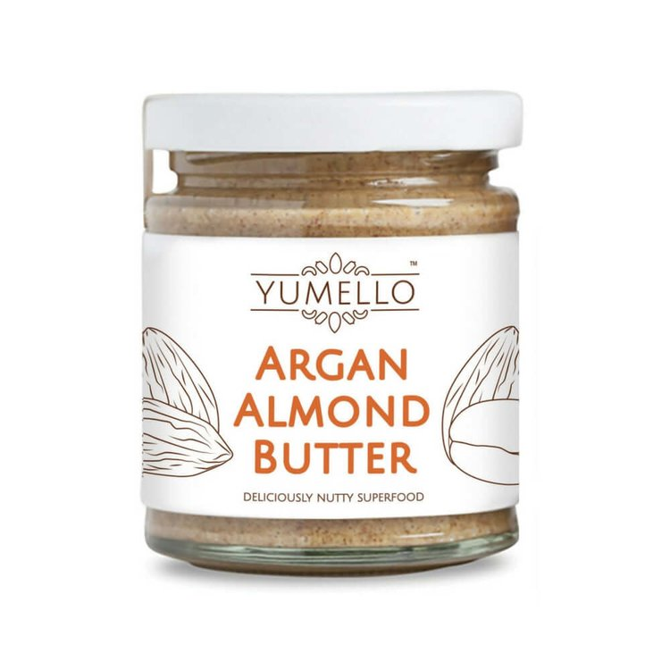 Smooth Almond Butter with Argan oil and Honey 170g