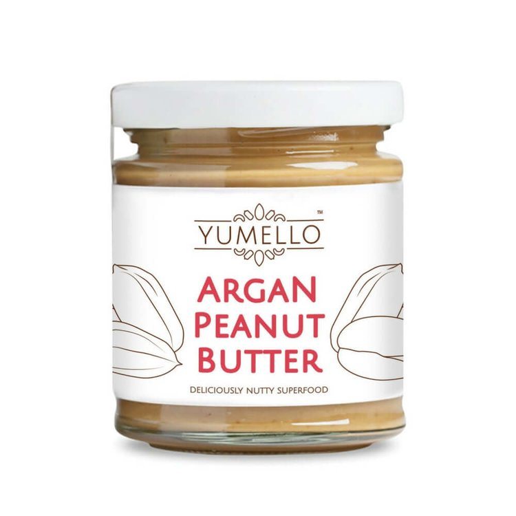Smooth Peanut Butter with Argan Oil and Honey 170g