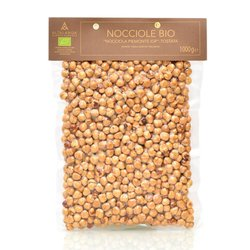 1kg Organic Italian Toasted Piedmont Hazelnuts PGI