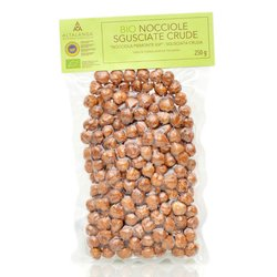 250g Organic Italian Raw Piedmont Hazelnuts PGI