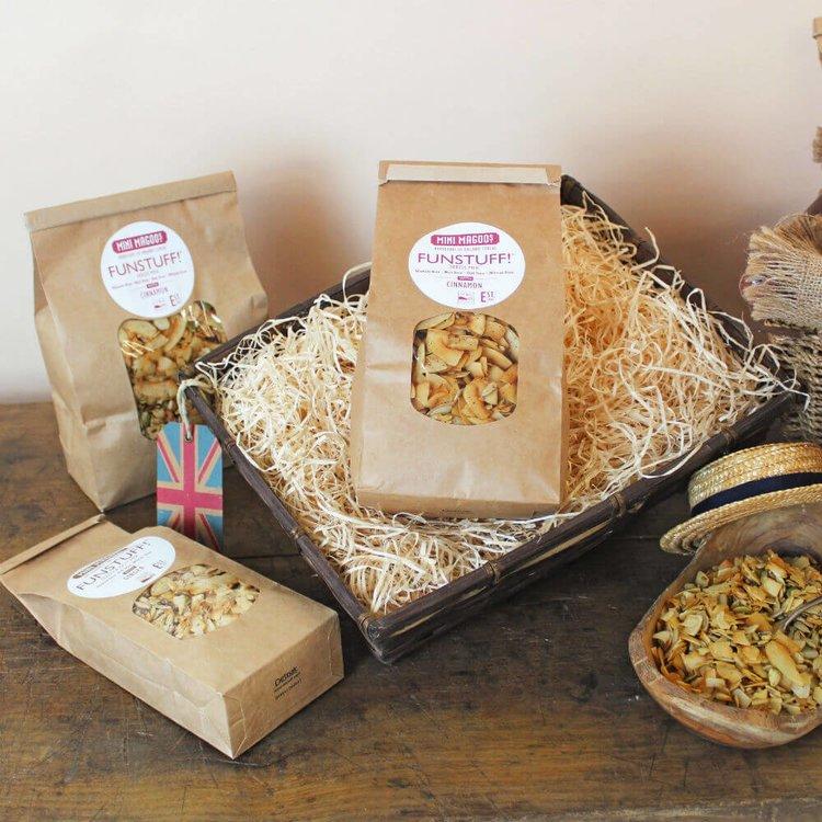 300g 'Funstuff' Cinnamon Organic Seeds Mix Cereal by Mini Magoo (Gluten Free)