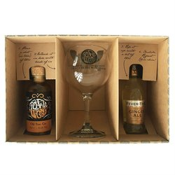 'Old Tom' Gin & Ginger Ale Gift Set with Balloon Glass & Fever-Tree Ginger Ale