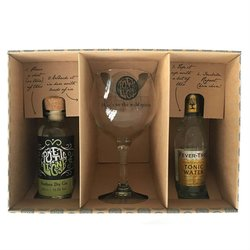 'Northern Dry' Gin & Tonic Gift Set with Balloon Glass & Fever-Tree Tonic