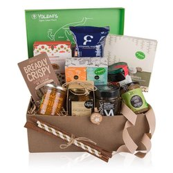 Greek 'First Breakfast' Gift Set Inc. Handmade Jams, Honey, Biscuits & Coffee