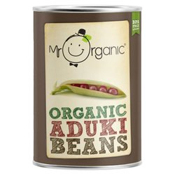 Organic Aduki Beans in Water 400g by Mr Organic