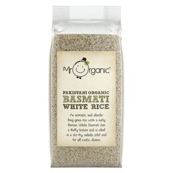 Organic Basmati White Rice 500g by Mr Organic