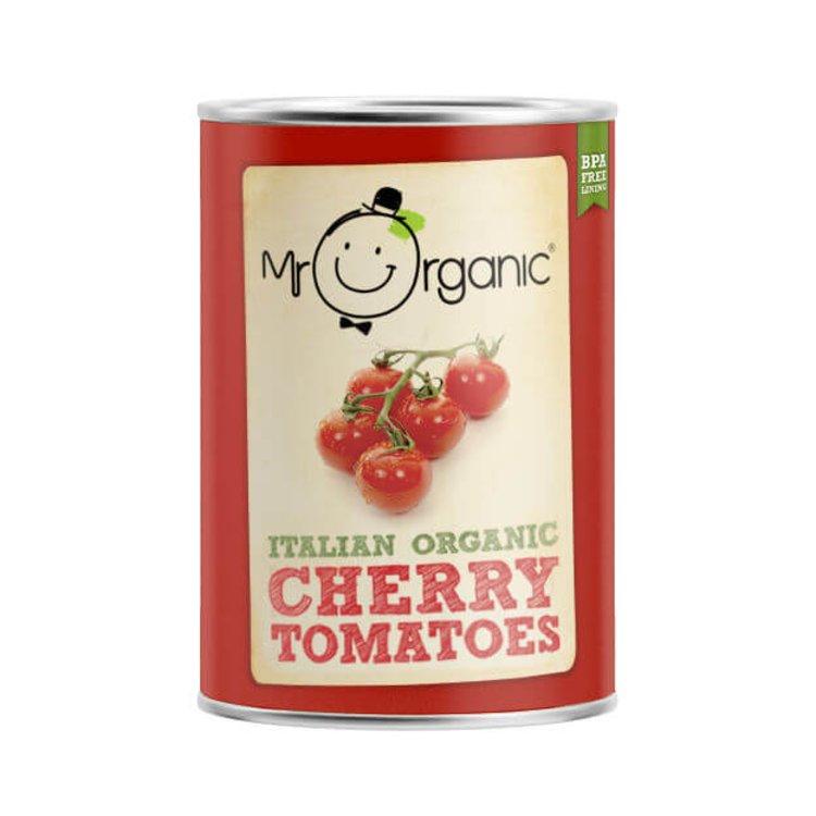 Organic Italian Cherry Tomatoes 400g by Mr Organic