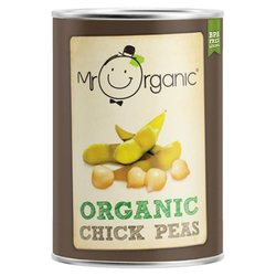 Organic Chickpeas in Water 400g by Mr Organic