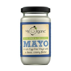 Organic Free From Mayonnaise 190g by Mr Organic (Egg & Dairy Free)