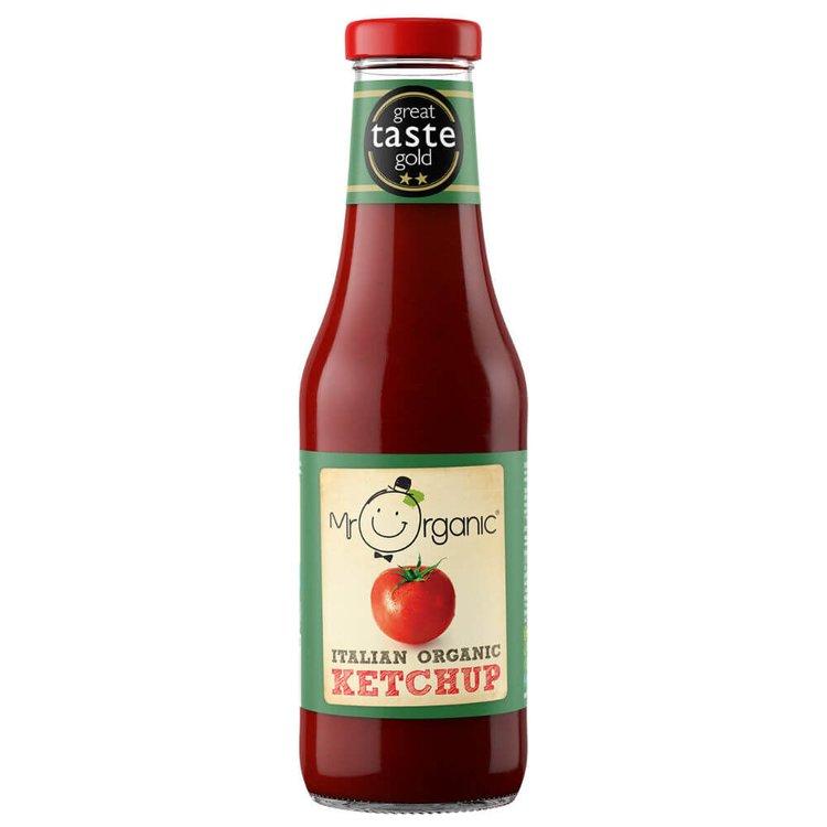 Organic Tomato Ketchup 480g by Mr Organic