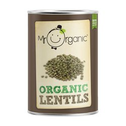 Organic Lentils in Water 400g by Mr Organic