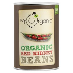 Organic Red Kidney Beans in Water 400g by Mr Organic