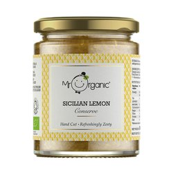 Organic Sicilian Lemon Conserve 360g by Mr Organic