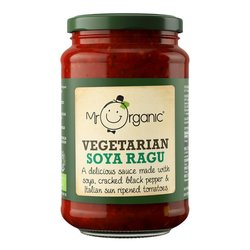 Organic Soya & Tomato Ragu 350g by Mr Organic (Vegetarian)