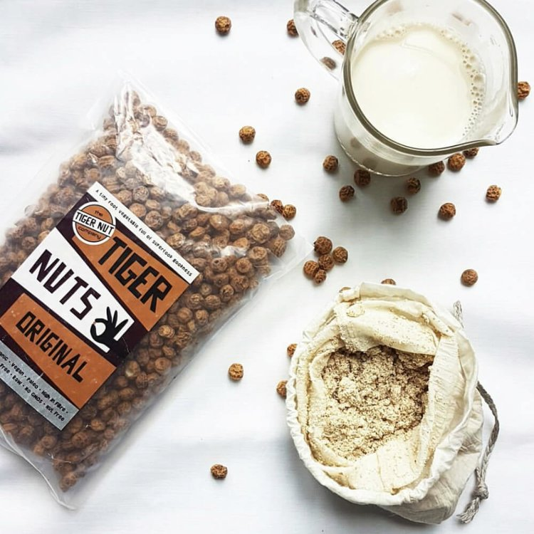 Tiger Nut Mylk Making DIY Gift Set Inc. Nut Milk Bag