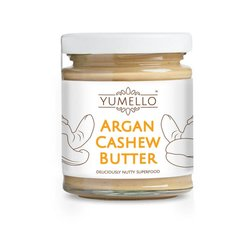 Smooth Cashew Nut Butter with Argan Oil 170g