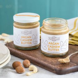 2 x Smooth Cashew Nut Butter with Argan Oil Set 170g