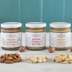 Smooth Nut Butter Gift Set with Argan Oil 3 x 170g