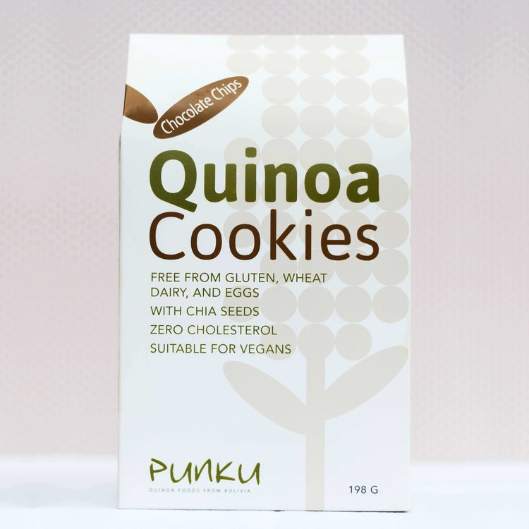 Chocolate Chip Quinoa Baked Cookies 198g (Pack of 12)