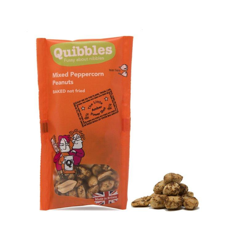 28 x Mixed Peppercorn Peanuts Snack Packs 30g