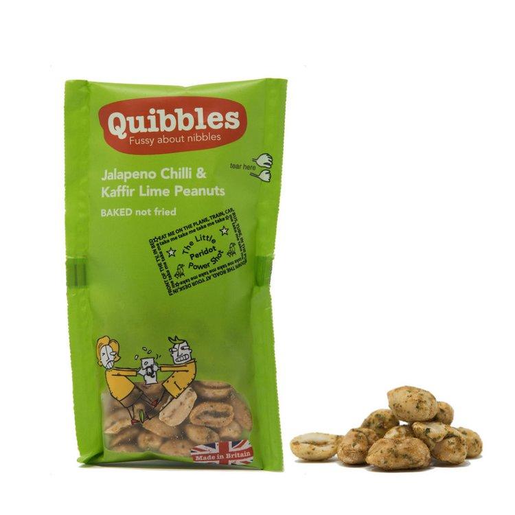 28 x Jalapeno Chilli & Kaffir Lime Peanuts Snack Packs 30g