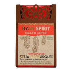 Pomegranate 70% Raw Peruvian Chocolate Bar 30g