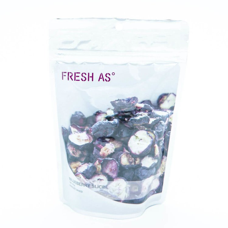 Freeze-Dried Blueberry Slices 45g (100% Natural)