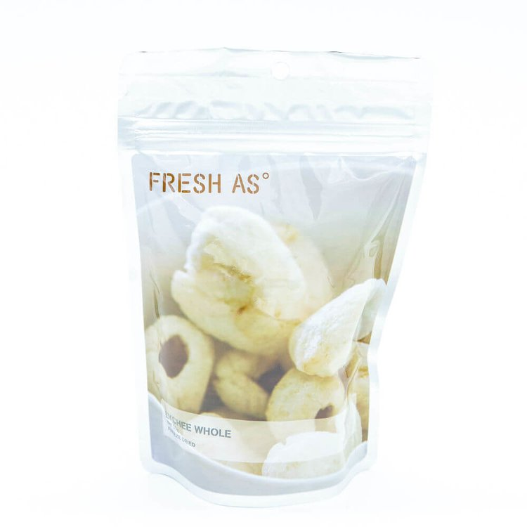 Freeze-Dried Whole Lychees 50g (100% Natural)