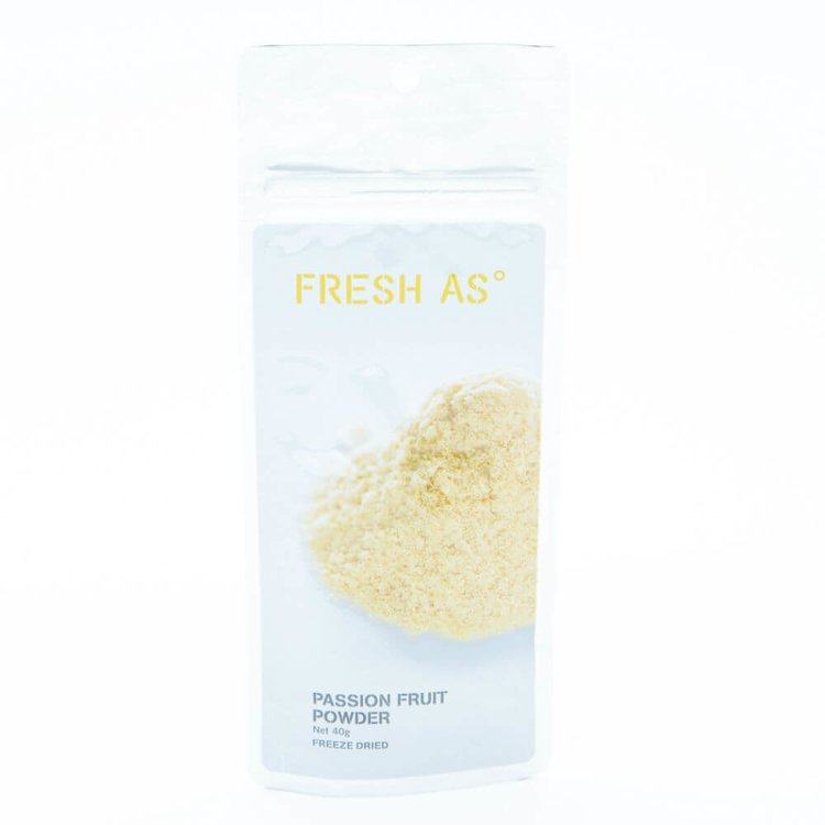 Freeze-Dried Passionfruit Powder 40g (100% Natural)