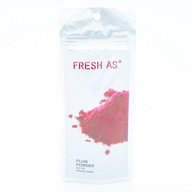 Freeze-Dried Plum Powder 40g (100% Natural)