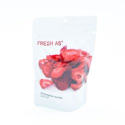 Freeze-Dried Strawberry Slices 22g (100% Natural)
