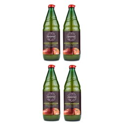 4 x Biona 750ml Organic Apple Cider Vinegar with 'the Mother'