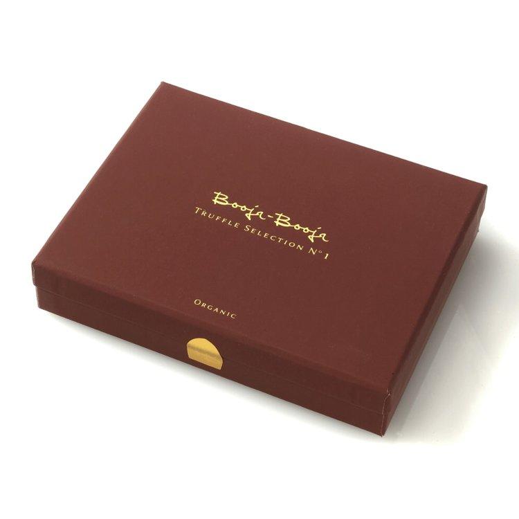 No 1 Special Edition 12 Chocolate Truffles Gift Box By Booja Booja Dairy Free Organic Vegan