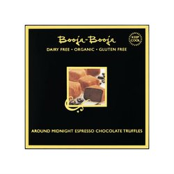 Around Midnight Espresso Organic Chocolate Tuffles 104g by Booja-Booja (Dairy Free, Vegan)