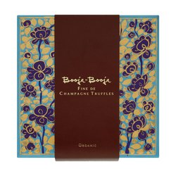 'The Artists Collection' Fine de Champagne Chocolate Truffles Gift Box 185g by Booja-Booja (Vegan)