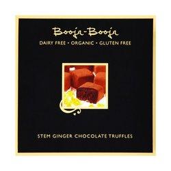 Stem Ginger Chocolate Organic Truffles 104g by Booja-Booja (Dairy Free, Vegan)