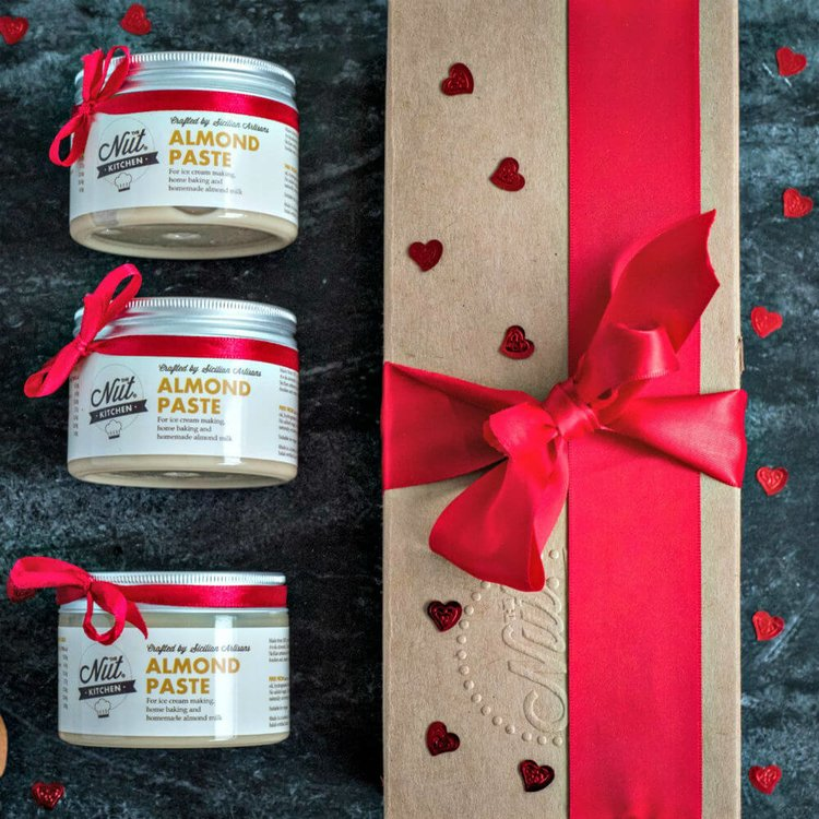 Make Your Own Almond Milk Gift Set (3 x Almond Paste 150g)