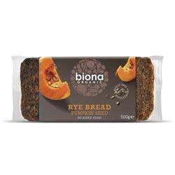 Organic Rye & Pumpkin Seed Bread 500g by Biona