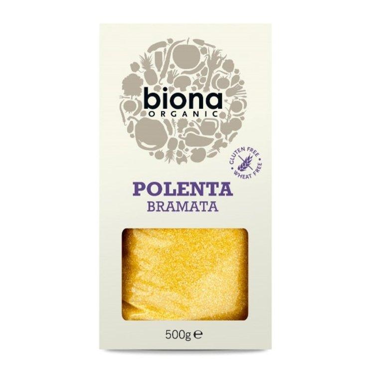 Organic Polenta Bramata (Cornmeal) 500g by Biona