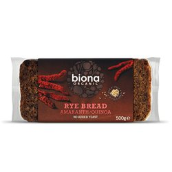 Organic Rye Bread with Amaranth & Quinoa 500g by Biona