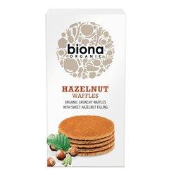 Organic Hazelnut Waffles with Sweet Hazelnut Filling 175g by Biona