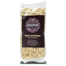 Organic Asia Noodles 250g by Biona (For Wok Cooking, Stir Frys & Soups)