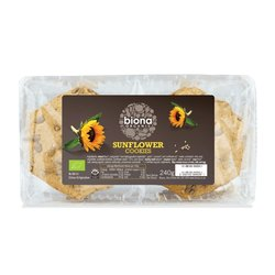 Organic Sunflower Cookies 240g by Biona