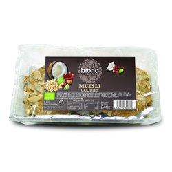 Organic Muesli Cookies 240g by Biona