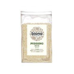 Organic White Pudding Rice 500g by Biona